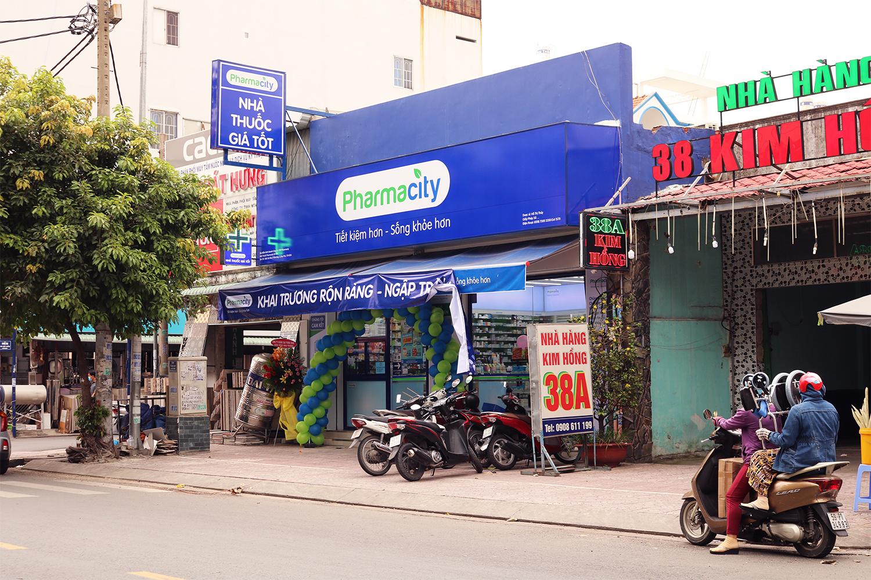 Quảng cáo cửa hàng thuốc pharmacity
