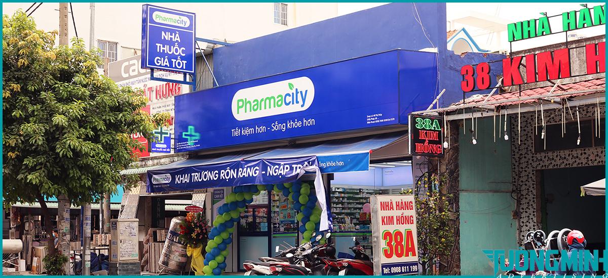Biển quảng cáo alu Pharmacity